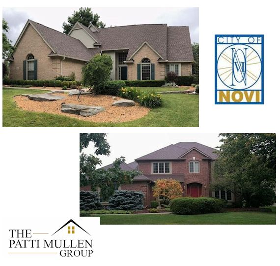 Novi Realtors home listing in Southeast Michigan. Beautiful brick two story house.